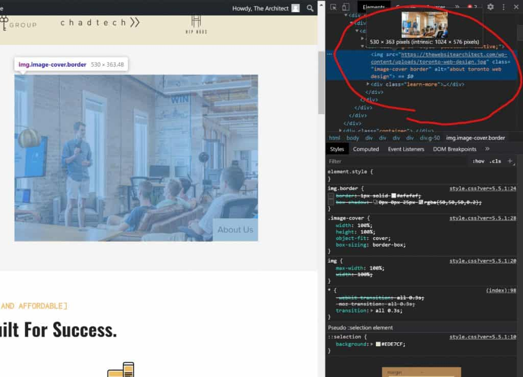wordpress image optimization