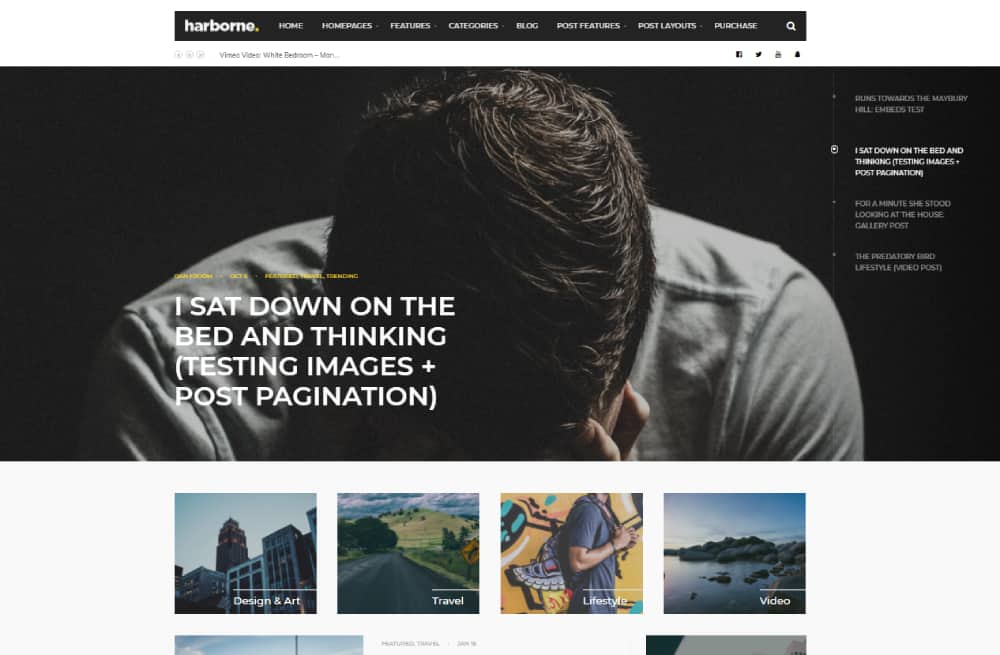 harborne wordpress theme