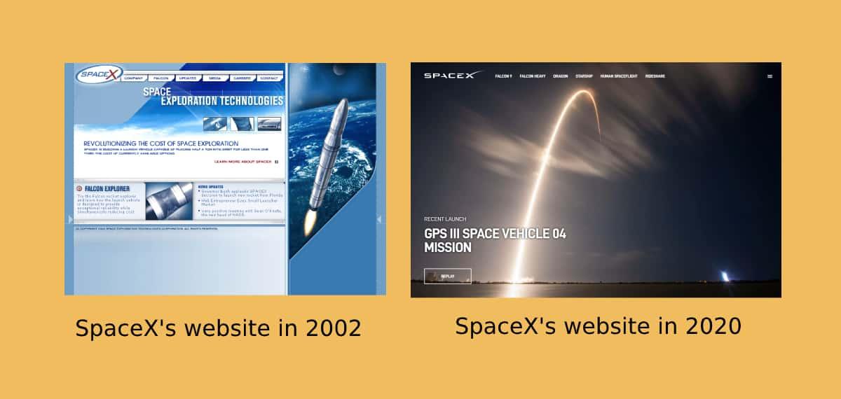 how to modernize a website
