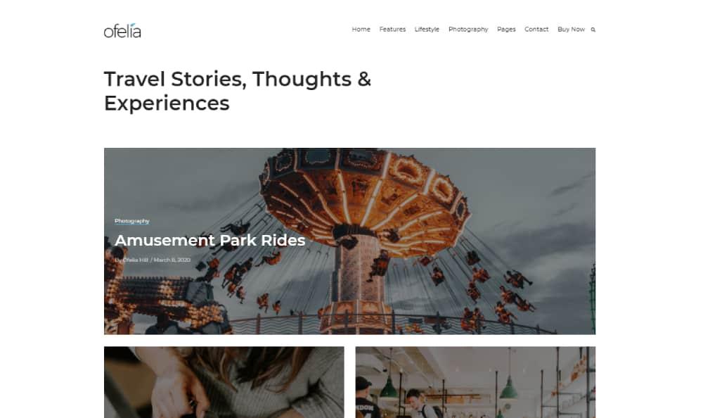 ofelia wordpress theme for journalism