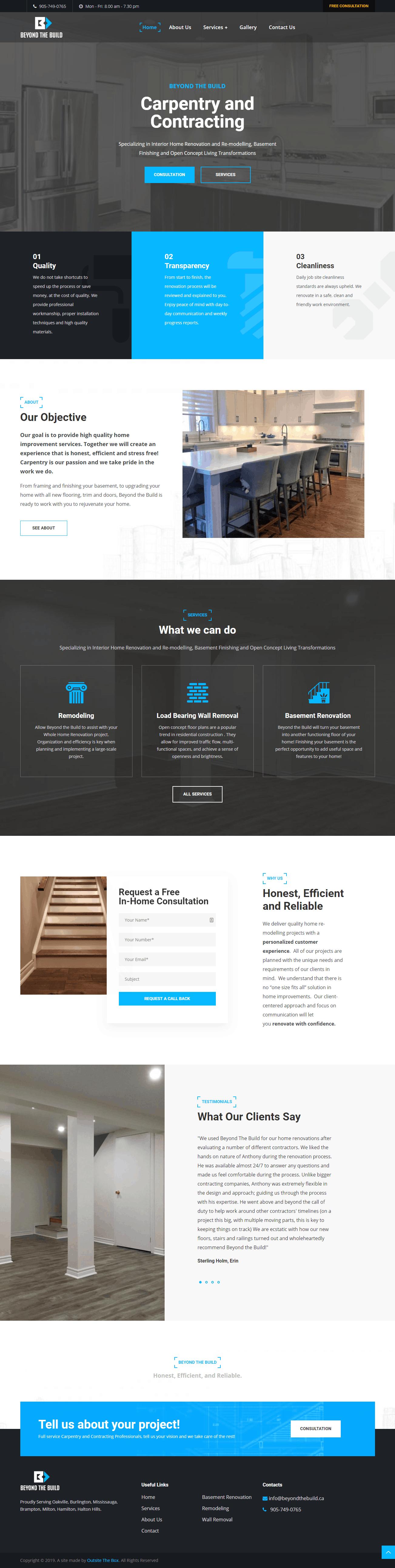 best homepage layout web design