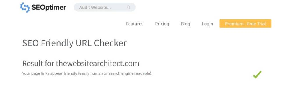 seo friendly checker tool