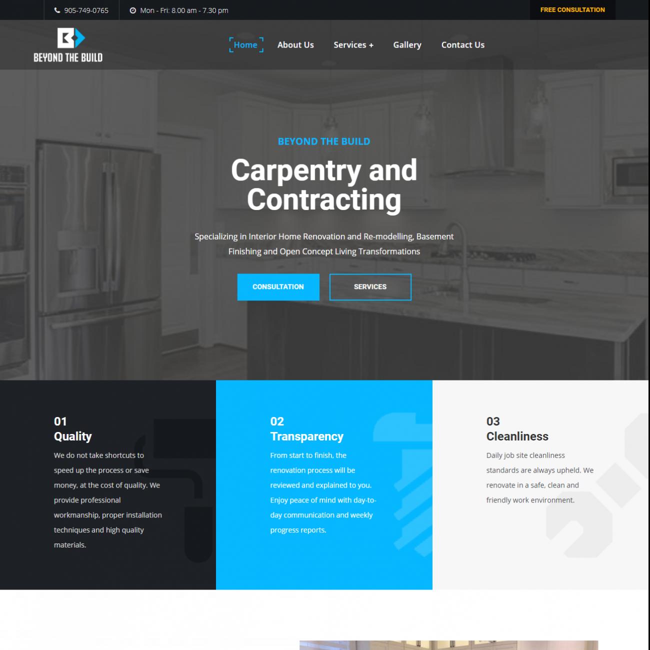 brampton web designer freelancer