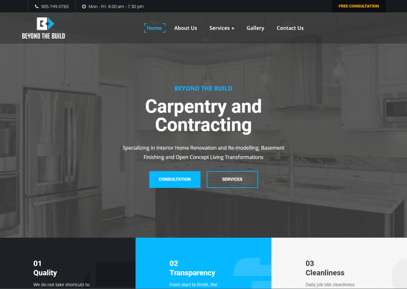 niagara falls small business website design